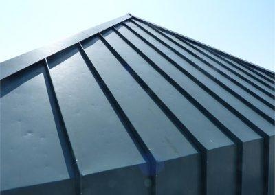 Metal roof - Facade