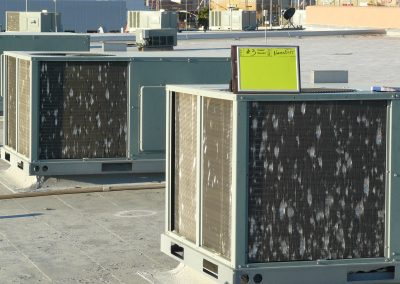Assessment Of Hail Damage To Roof HVACs