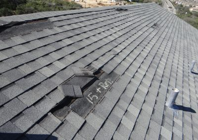Analysis Of A Damaged Shingles Roof
