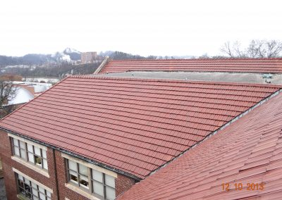 Low Pitch Tile Roof