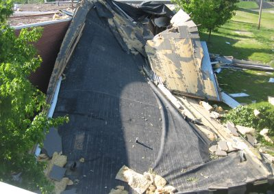 Extreme Weather Damage To Roof